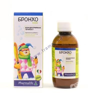 Изображение към продукта БРОНХО БИМБИ сироп 200 мл НАТУРФАРМА