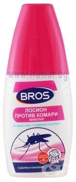 Изображение към продукта БРОС СПРЕЙ - ЛОСИОН СЕНЗИТИВ ЗА ДЕЦА НАД 1 година 50 мл