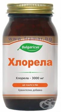 БУЛГАРИКУС ХЛОРЕЛА капсули 500 мг. * 60 - изображение