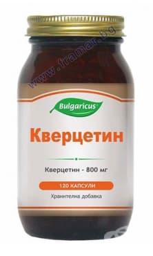 БУЛГАРИКУС КВЕРЦЕТИН капсули 400 мг. * 120 - изображение