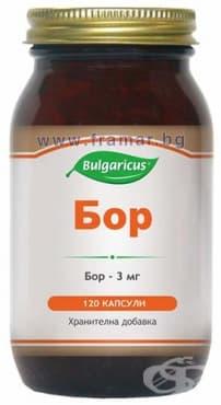 БУЛГАРИКУС БОР капсули 3 мг. * 120 - изображение