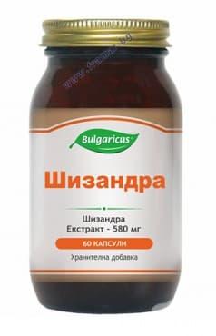 БУЛГАРИКУС ШИЗАНДРА капсули 580 мг. * 60 - изображение