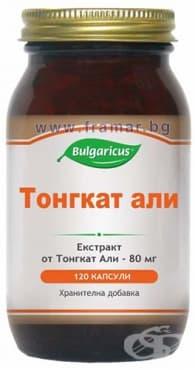 БУЛГАРИКУС ТОНГКАТ АЛИ капсули 80 мг. * 120 - изображение