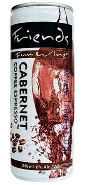 Изображение към продукта FUN WINE КАБЕРНЕ КАФЕ ЕСПРЕСО 6% 250 мл