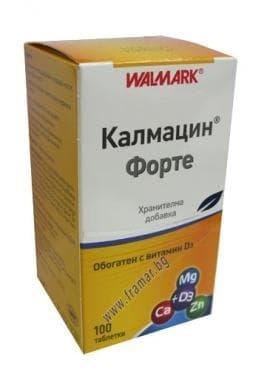 КАЛМАЦИН ФОРТЕ табл. * 100 ВАЛМАРК - изображение