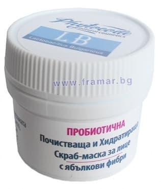 Изображение към продукта ФИТОКОД LB СКРАБ-МАСКА ЗА ЛИЦЕ 8 гр.
