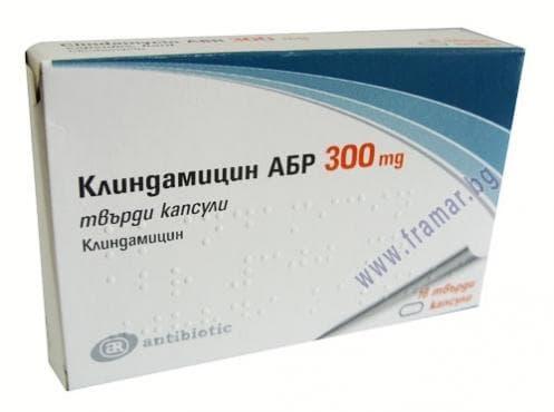Изображение към продукта КЛИНДАМИЦИН АБР капс. 300 мг. * 16