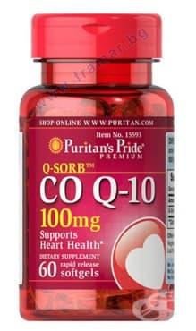 ПУРИТАНС ПРАЙД КОЕНЗИМ Q10 капсули 100 мг. * 60 - изображение