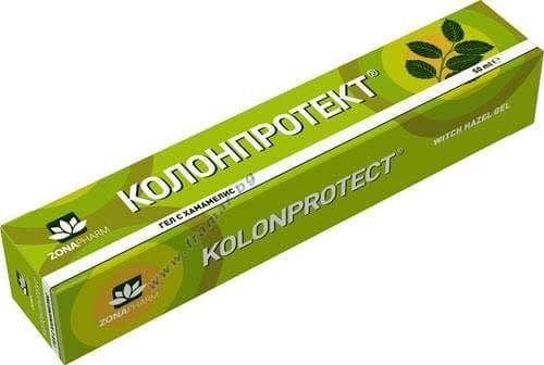 Изображение към продукта КОЛОНПРОТЕКТ гел при хемороиди 50 мл