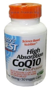 ДОКТОР'С БЕСТ Co Q10 капсули 100 мг. *30 - изображение