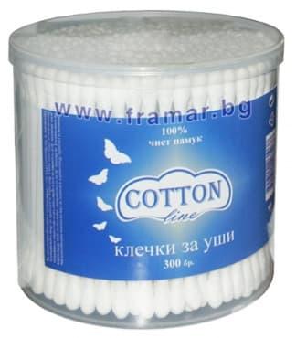 ТУПФИ COTTON LINE * 300 КУТИЯ - изображение