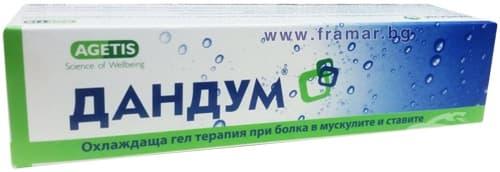 Изображение към продукта ДАНДУМ охлаждащ гел 100 г