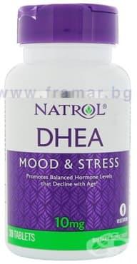 Изображение към продукта НАТРОЛ DHEA (дехидроепиандростерон) таблетки 10 мг * 30