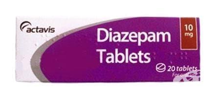 ДИАЗЕПАМ табл. 10 мг. * 20 - изображение