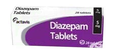 ДИАЗЕПАМ табл. 5 мг. * 20 - изображение