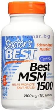 ДОКТОР'С БЕСТ МСМ таблетки 1500 мг. * 120 - изображение