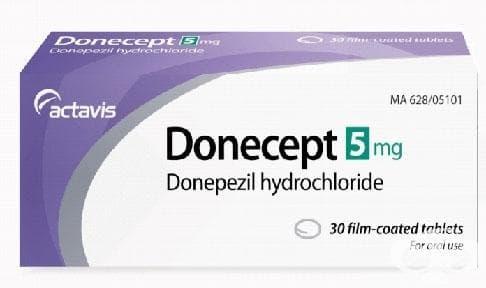 Изображение към продукта ДОНЕЦЕПТ таблетки 5 мг * 30 АКТАВИС
