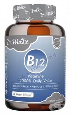 Изображение към продукта ДР. ВОЛКЕ ВИТАМИН B12 капсули * 90