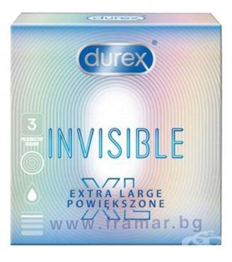 Изображение към продукта ДУРЕКС INVISIBLE XL * 3