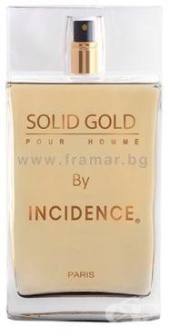 Изображение към продукта ТОАЛЕТНА ВОДА ПАРИЖ БЛУ INCIDENCE SOLID GOLD ЗА МЪЖЕ 100 мл