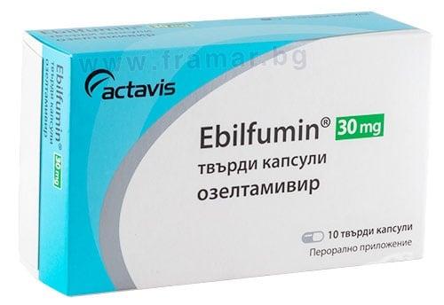 Изображение към продукта ЕБИЛФУМИН капсули 30 мг * 10