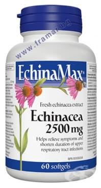 ЕХИНАМАКС капсули 2500 мг. * 60 УЕБЪР НАТУРАЛС - изображение