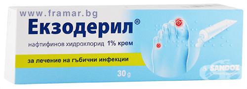 Изображение към продукта ЕКЗОДЕРИЛ крем 30 гр.