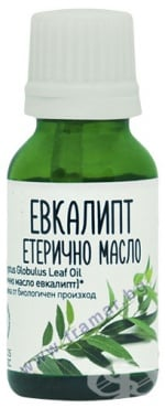 Изображение към продукта ЕЛФЕЯ БИО ЕТЕРИЧНО МАСЛО ОТ ЕВКАЛИПТ 15 мл