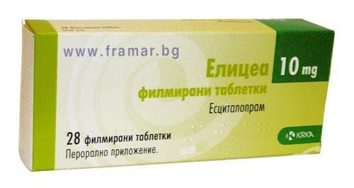 Изображение към продукта ЕЛИЦЕА табл. 10 мг. * 28