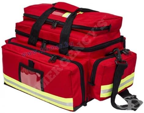 Изображение към продукта ЧАНТА ЗА СПЕШНА ПОМОЩ ELITE BAGS EM - 13.003 ЧЕРВЕНА