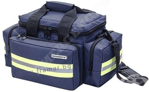 Изображение към продукта ЧАНТА ЗА СПЕШНА ПОМОЩ ELITE BAGS EM - 13.014 ТЪМНО СИНЯ