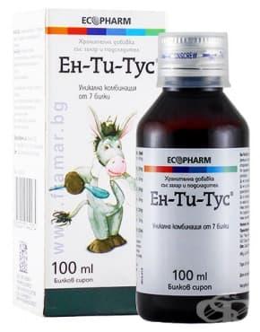 Изображение към продукта ЕН-ТИ-ТУС сироп 100 мл.