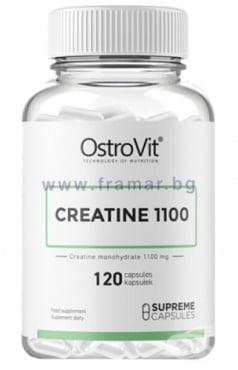 Изображение към продукта ОСТРОВИТ КРЕАТИН МОНОХИДРАТ 1100 капсули * 120