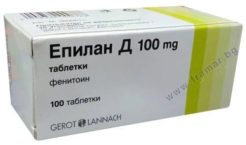 Изображение към продукта ЕПИЛАН - Д ГЕРОТ таблетки 100 мг * 100