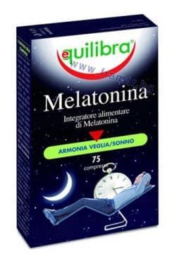 Изображение към продукта ЕКВИЛИБРА МЕЛАТОНИН таблетки 1 мг * 75