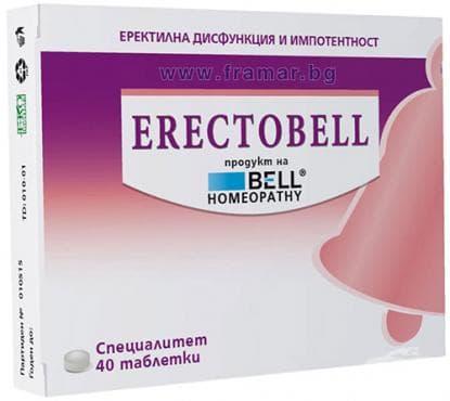 ЕРЕКТОБЕЛ таблетки * 40 - изображение