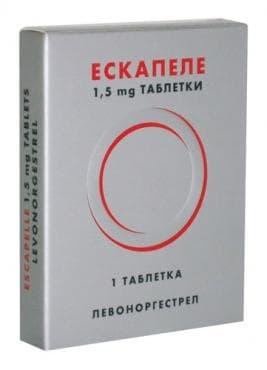 Изображение към продукта ЕСКАПЕЛ табл. 1.5 мг.  * 1