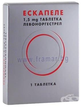 Изображение към продукта ЕСКАПЕЛ таблетки 1.5 мг  * 1