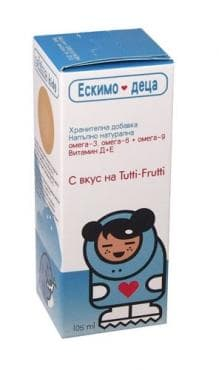 Изображение към продукта ЕСКИМО - 3 ДЕТСКИ СИРОП 105 мл.