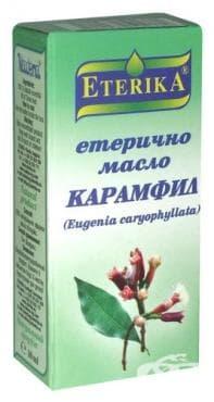 Изображение към продукта ЕТЕРИКА ЕТЕРИЧНО МАСЛО ОТ КАРАМФИЛ 10 мл.