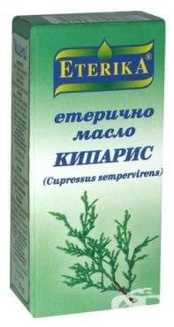 Изображение към продукта ЕТЕРИКА ЕТЕРИЧНО МАСЛО ОТ КИПАРИС 10 мл.