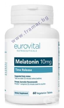 ЕВРОВИТАЛ МЕЛАТОНИН таблетки 10 мг * 60 - изображение