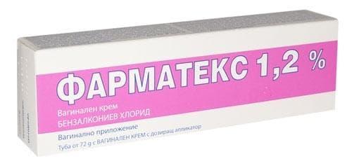 ФАРМАТЕКС вагинален крем 72 гр. с апликатор - изображение