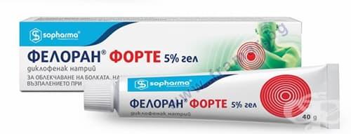 ФЕЛОРАН ФОРТЕ гел 5 % 40 гр.