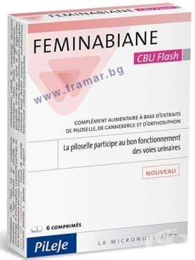 Изображение към продукта ФЕМИНАБИАН таблетки * 6