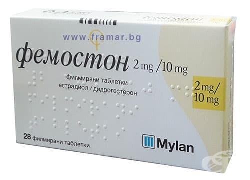ФЕМОСТОН табл. 2/10 мг. * 28 - изображение