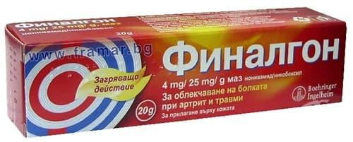 Изображение към продукта ФИНАЛГОН унгвент 20 гр. САНОФИ