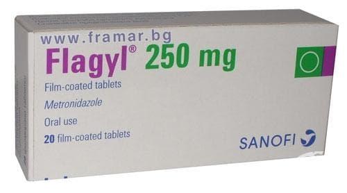 Изображение към продукта ФЛАЖИЛ таблетки 250 мг * 20 САНОФИ