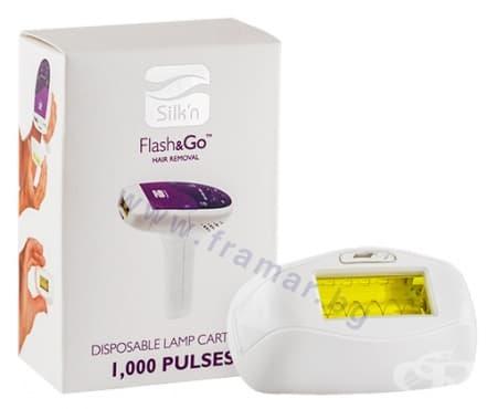 Изображение към продукта РЕЗЕРВНА ЛАМПА ЗА ФОТОЕПИЛАТОР SILK'N FLASH & GO 1000 импулса