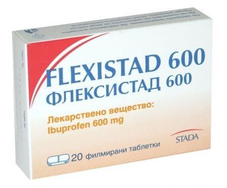 Изображение към продукта ФЛЕКСИСТАД табл. 600 мг. * 20 СТАДА